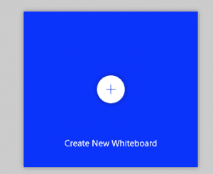 image of tile to click on to create a new whiteboard